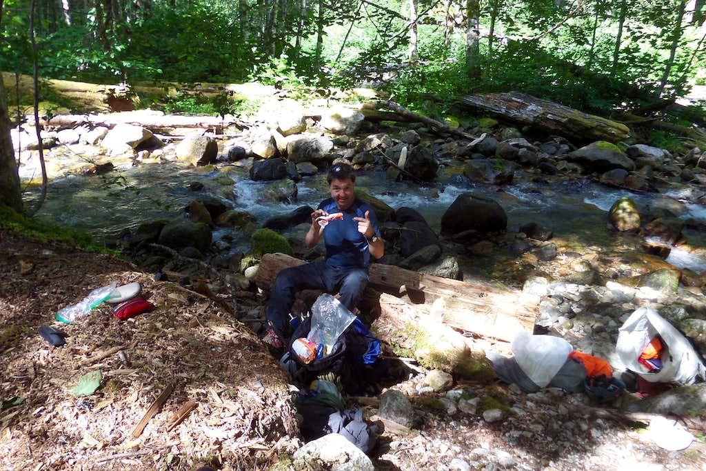 Bachelor Creek Break