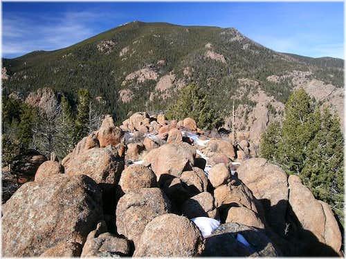 Buffalo Peak and its south...