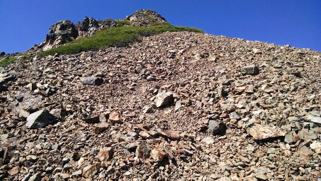 Dicks NE Ridge - Direct ridge route