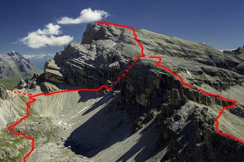 Nivesschartensteig / Sentiero Forcella Nivea