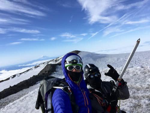 Mt Rainier Summit