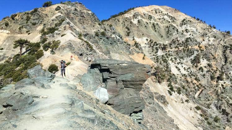 Mt Baldy via Devil\'s Backbone