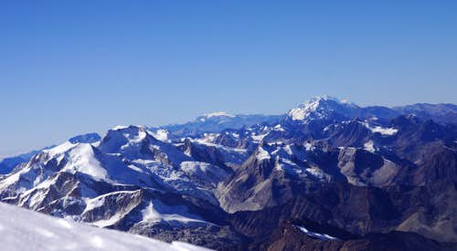 Cordillera Real from Ancohuma