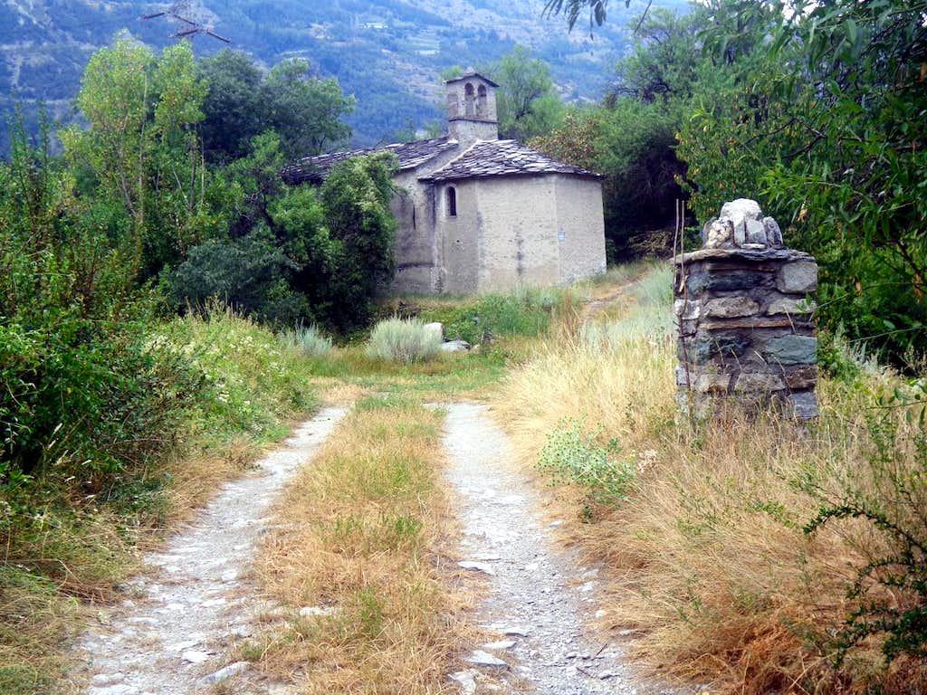 Aosta & Surr ... Jovençan San Giorgio Church 2015