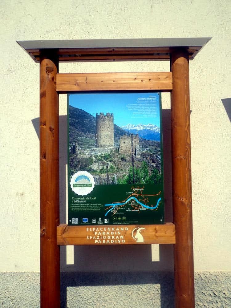 Aosta & Surr ... Chatel d'Argent Villeneuve's Panel 2015