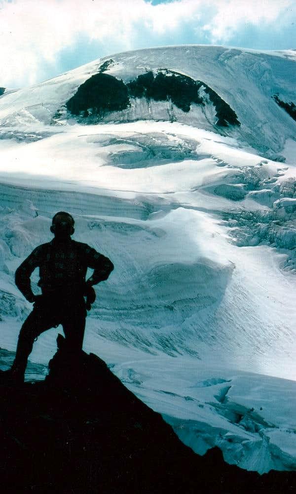 Mont Velan or V'lan Descent on Northeast Crest 1976