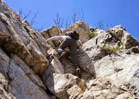 cobblestone climb