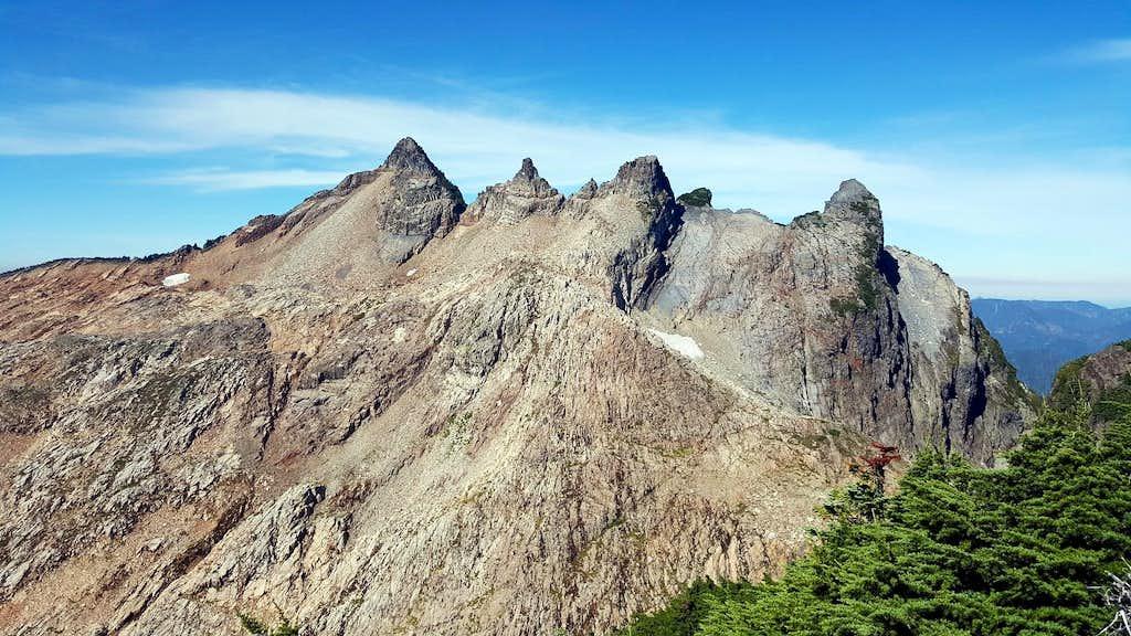 Gothic Peak from Del Campo