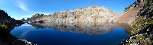 Gothic Peak Reflection