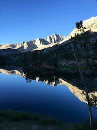 Mount Goode and Long Lake