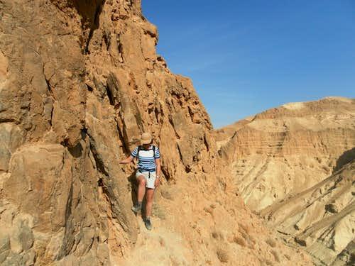 Jordeaen desert. Route N3