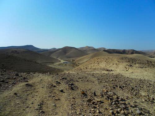 Jodeaen desert. Route N3