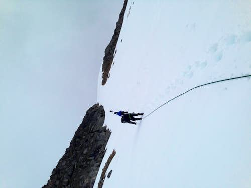 SE Couloir on Feather