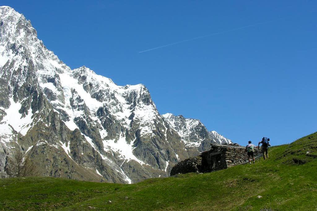 Mont de la Saxe & Gr. Jorasses various Ridges 2005