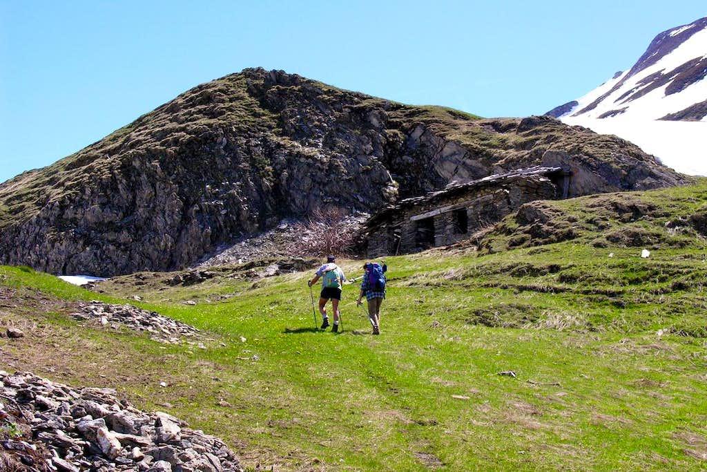 From Lavachey Village towards Mont de la Saxe 2005