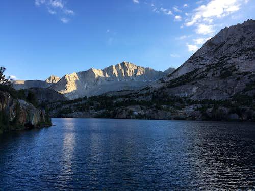 Alpenglow on Mount Goode