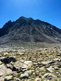 Mt. Agassiz from Bishop Pass