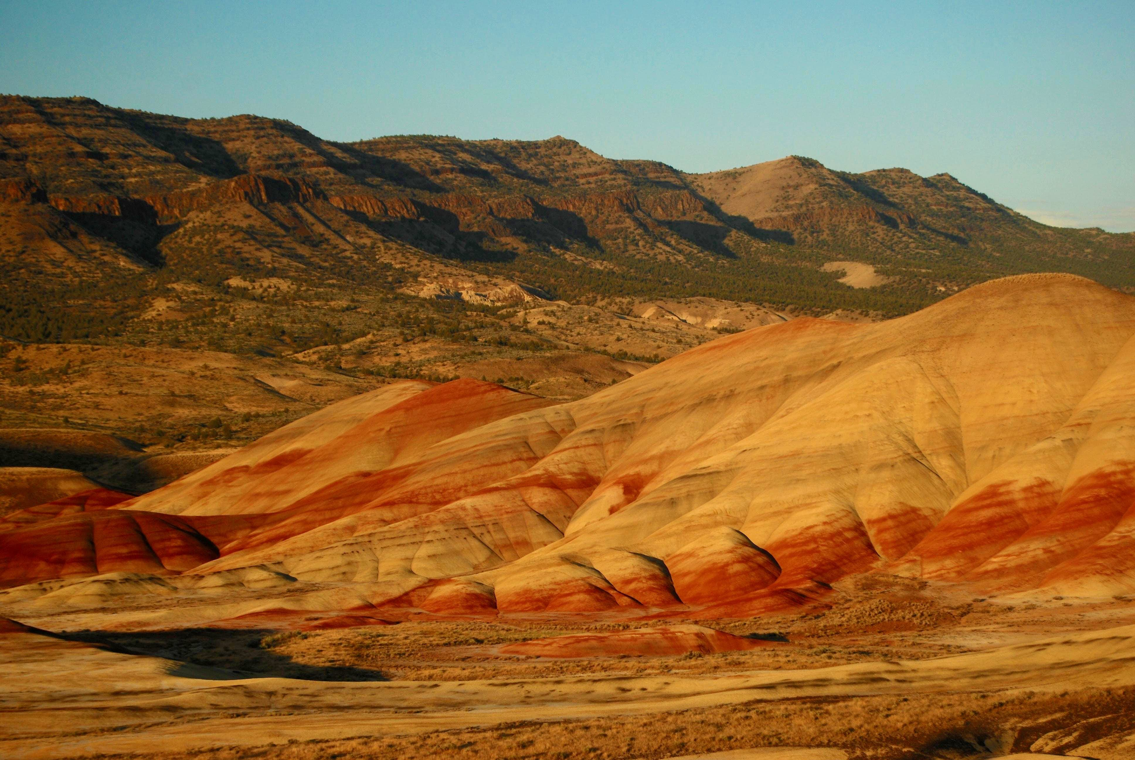 The Painted Hills: July 24th, 25th 2015