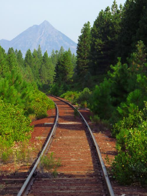 The train to Black Butte