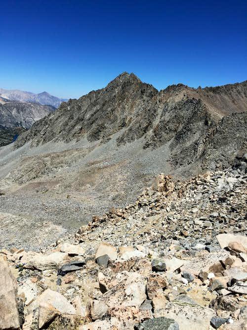 Aperture Peak from Mt. Agassiz