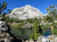 Hurd Peak above Long Lake