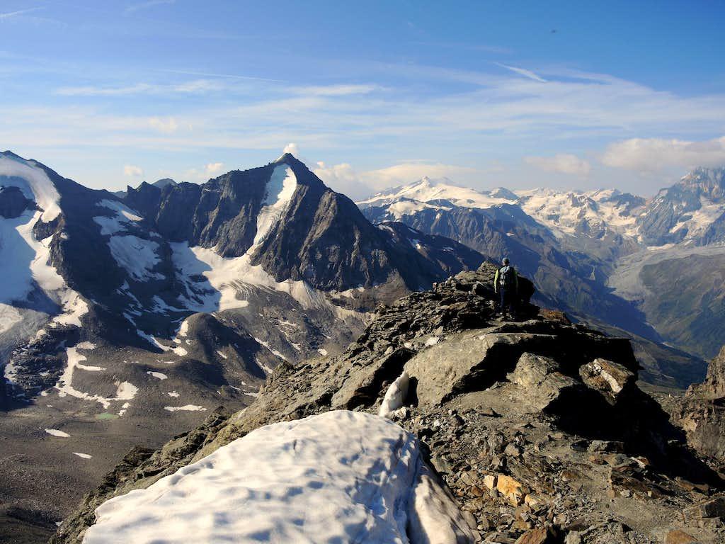 Croda di Cengles summit ridge