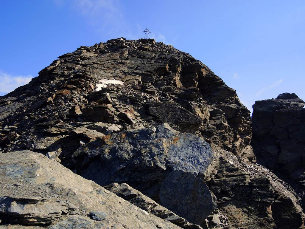 Summit of Croda di Cengles - Tschenglser Hochwand