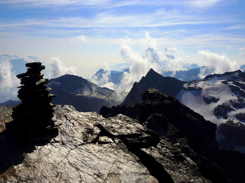 Croda di Cengles summit cairn