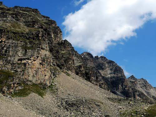 Croda di Cengles - Tschenglser Hochwand