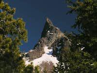 Needle-like summit of...