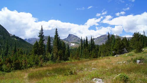 Sawtooth Mountain - North Slopes