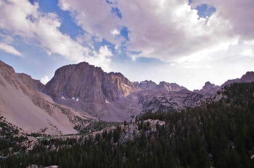 Temple Crag from the Black Lake trail