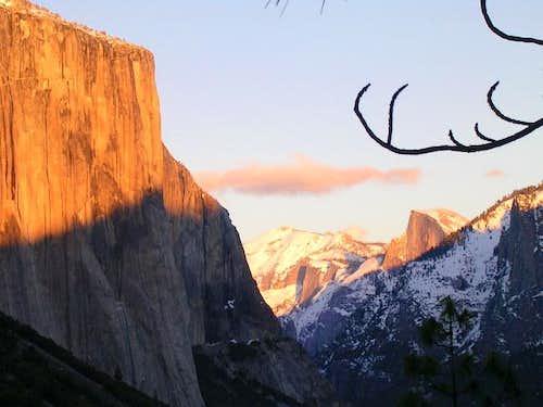 El Cap, Clouds Rest and Half...