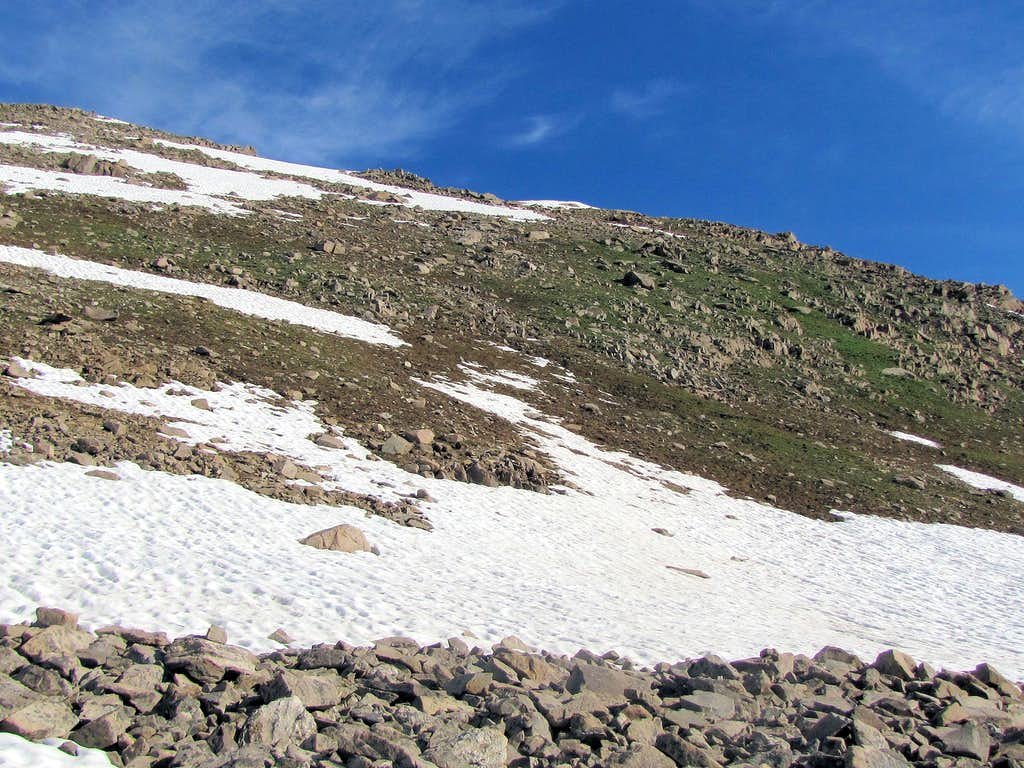 Slopes above Independence Lake