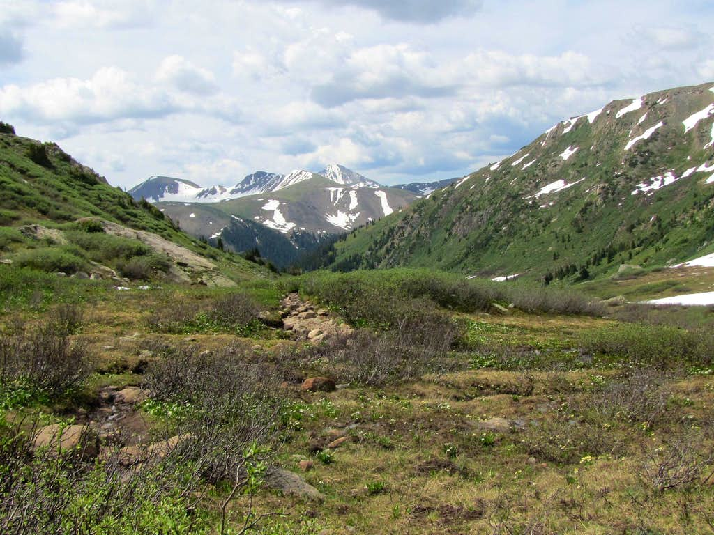 Grizzly Peak & Peak 13198 ft