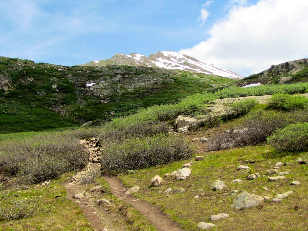 Geissler Mountain East 13480 ft