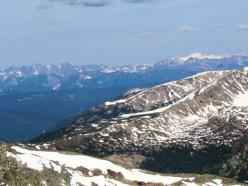 Maroon Bells & Mt. Snowmass