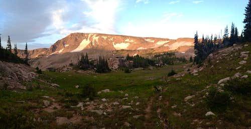Morning Light on Mt. Ethel