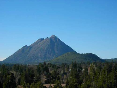 Black Butte as seen from...