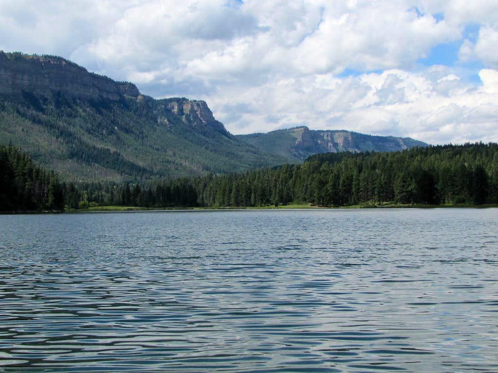 Hermosa Cliffs From Haviland Lake
