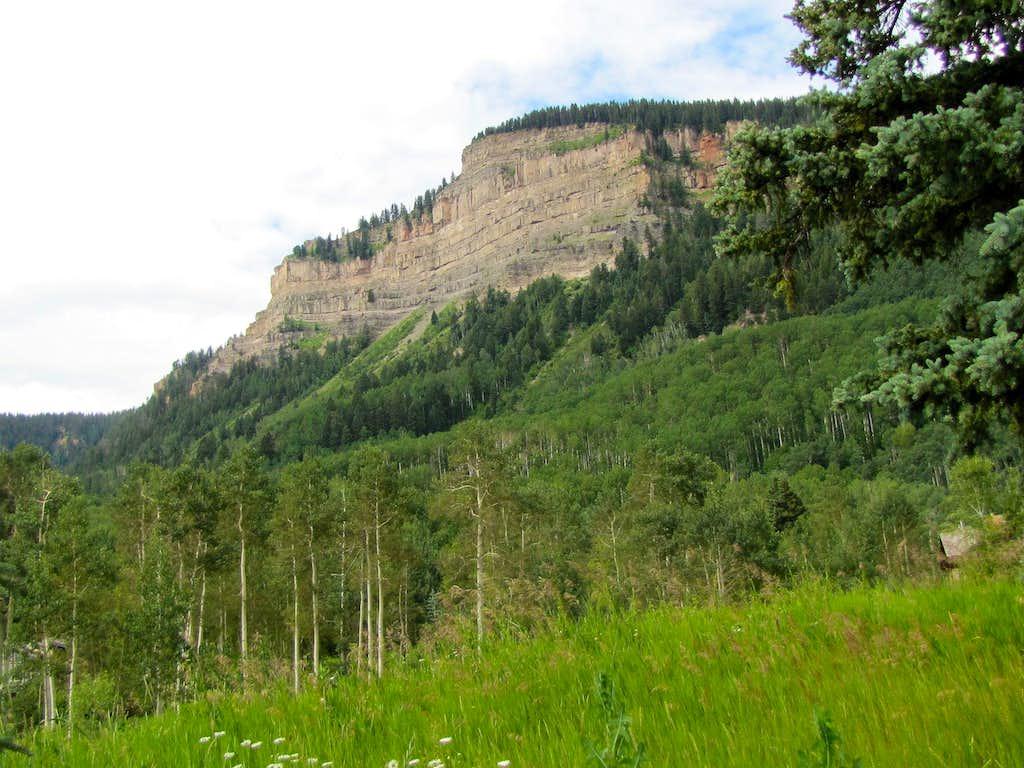Hermosa Cliffs