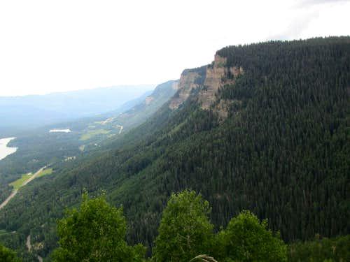 Route 550 & Hermosa Cliffs