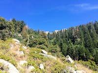 Ascending N of Kramer Creek