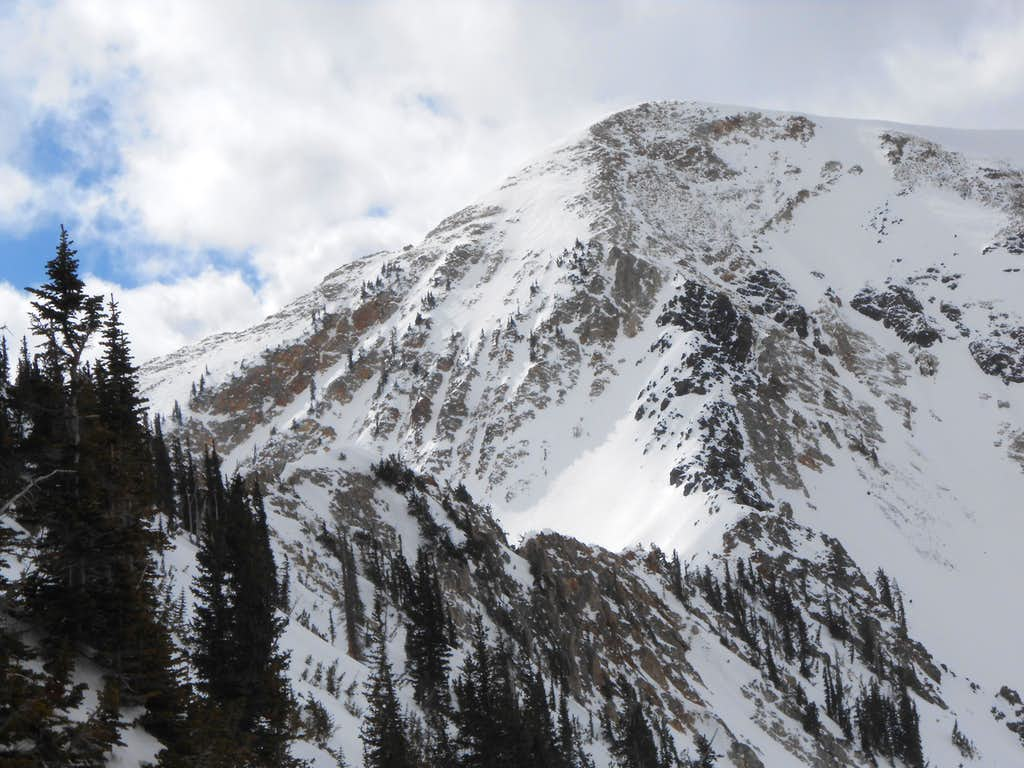 East Twin from Snowbird