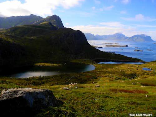 Small lakes near Nyksund,  Langøya