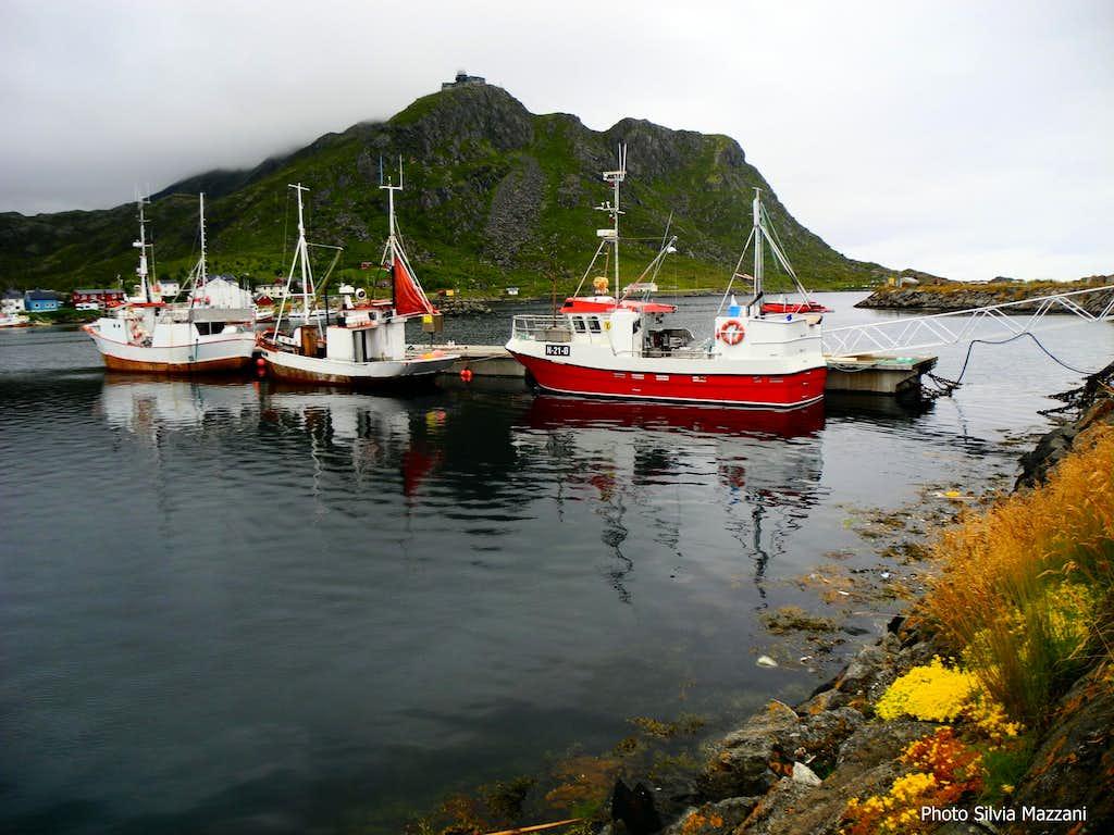 Stø, starting point of Drunningruta