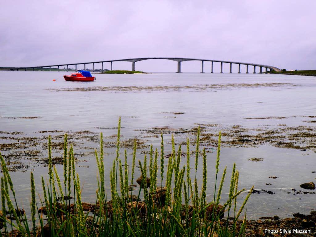 Vesterålen, a bridge connecting the islands,