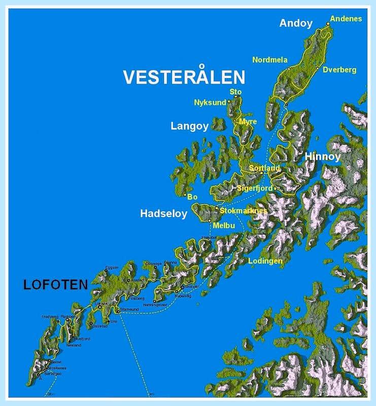 Vester U00e5len Map   Photos  Diagrams  U0026 Topos   Summitpost