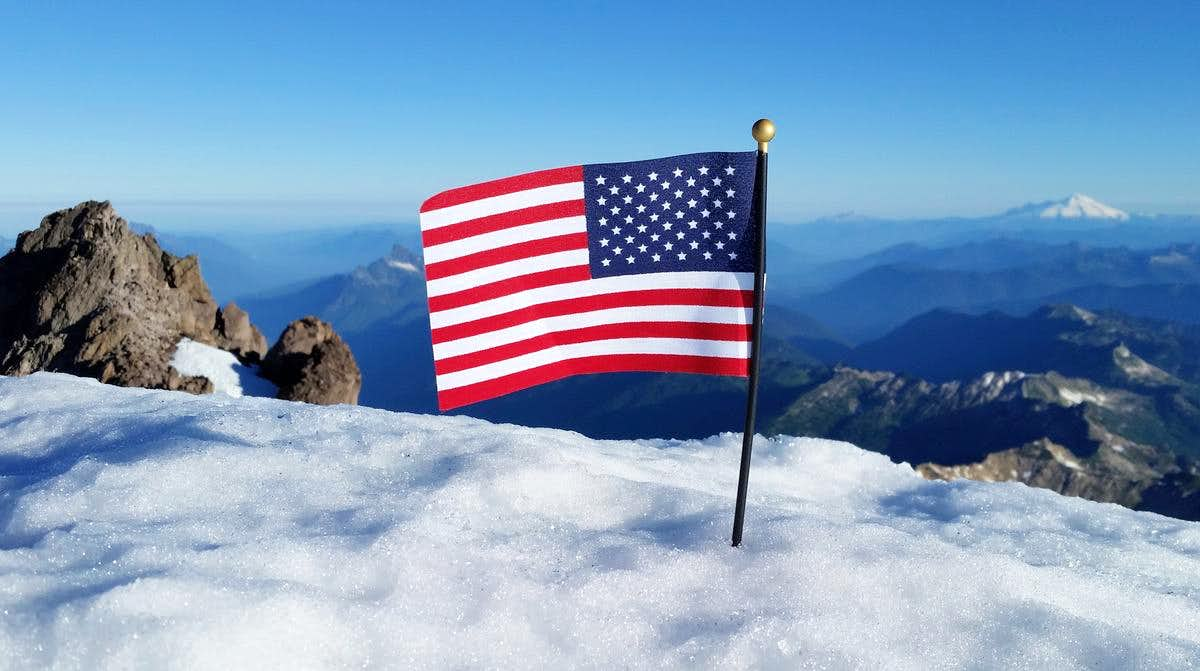 Mount \'Merica! (formerly Glacier Peak)
