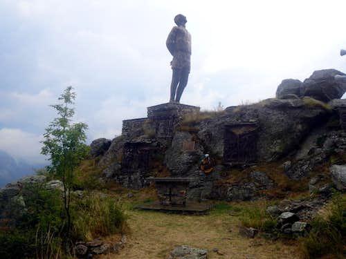 Trois Villes Monument to the Partisans Fighters 2015
